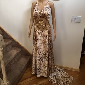 Passion haute evening Gown size 10